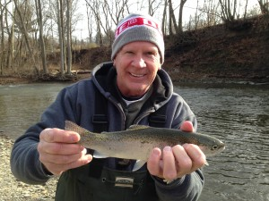Dad's First Steelhead