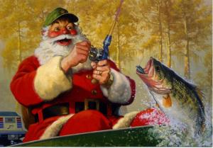 santa_fishing