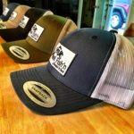 New RF Mesh Series Snap Backs